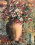 Dim Light 2002 40x34 Original Painting - Alicia Quaini