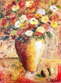 Parrot's Color 2002 50x41 Huge Original Painting - Alicia Quaini