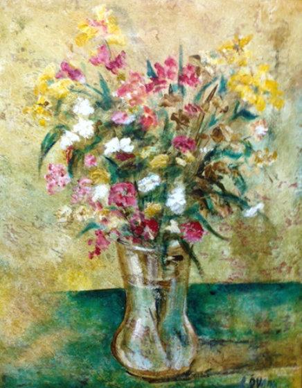 Flores De La Ermita 2003 40x30 Original Painting by Alicia Quaini
