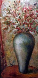 Bright Light 2004 48x24 Super Huge Original Painting - Alicia Quaini