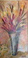 Arcoiris De Mil Colores 2004 34x58 Original Painting by Alicia Quaini - 1