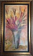 Arcoiris De Mil Colores 2004 34x58 Original Painting by Alicia Quaini - 3