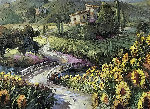 View of the Vineyard 2006 Limited Edition Print - Steve Quartly