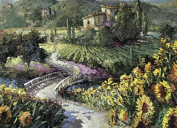 View of the Vineyard Limited Edition Print - Steve Quartly
