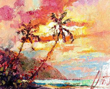 Around the Island 2008 11x13 Original Painting by Steve Quartly