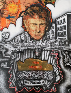 Pleasurists 2013 Trump Limited Edition Print by William Quigley