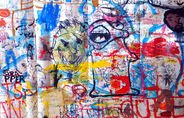 Skrapper Aint on No Schedule 2012 50x69 Works on Paper (not prints) by William Quigley