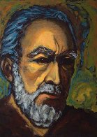 Zorba Self Portrait 1985 Limited Edition Print by Anthony Quinn - 0