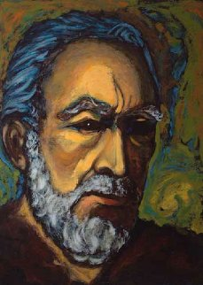 Zorba Self Portrait 1985 Limited Edition Print - Anthony Quinn