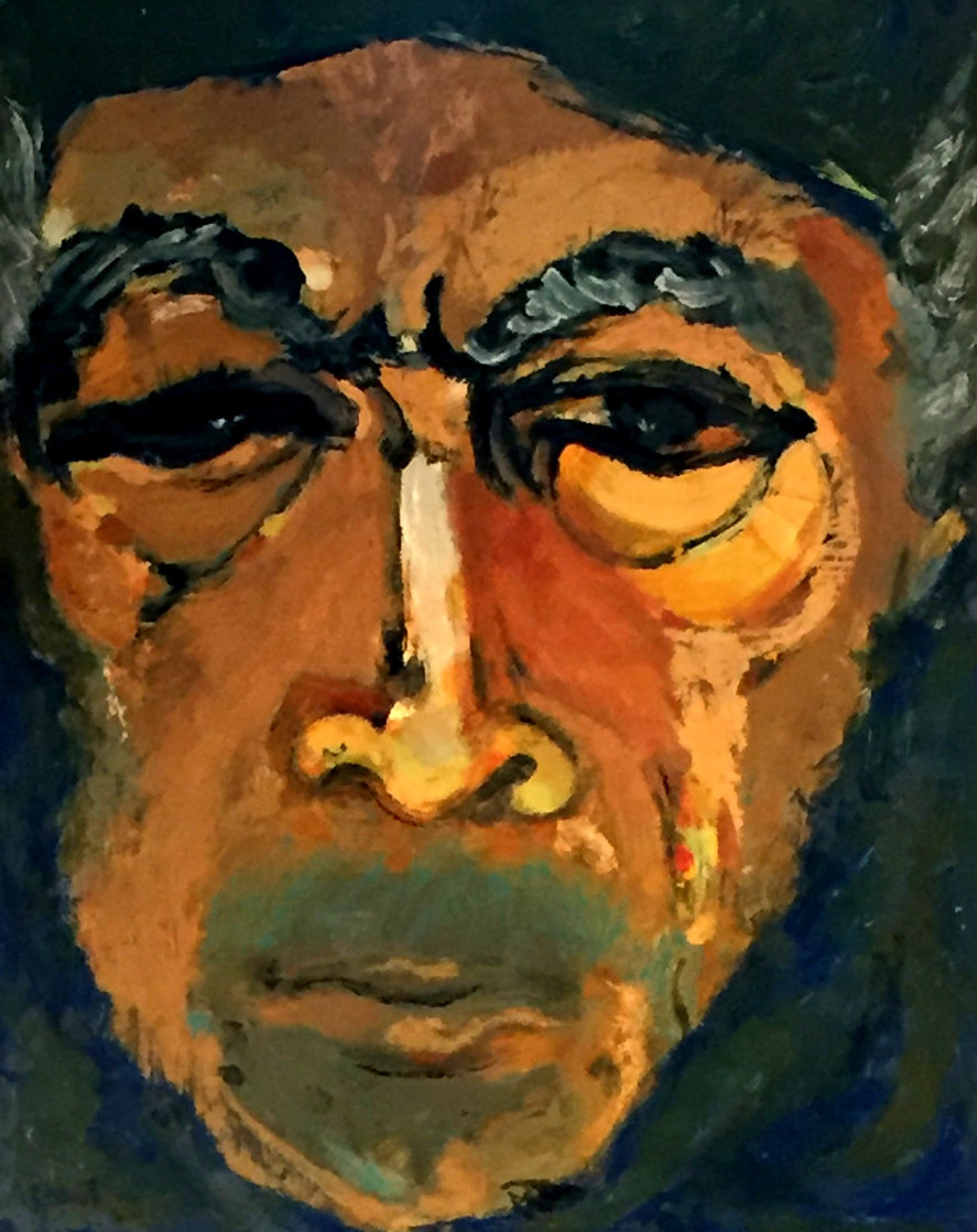 Glance in the Mirror 1983 Limited Edition Print by Anthony Quinn