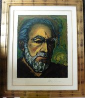 Self Portrait of Zorba 1985   Limited Edition Print by Anthony Quinn - 1