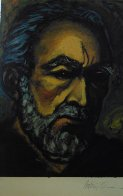 Self Portrait of Zorba 1985   Limited Edition Print by Anthony Quinn - 3