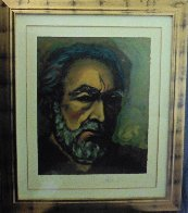 Self Portrait of Zorba 1985   Limited Edition Print by Anthony Quinn - 2