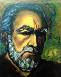 Self Portrait of Zorba 1985   Limited Edition Print by Anthony Quinn