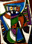 Mayan Beauty EA 1983 Limited Edition Print - Anthony Quinn