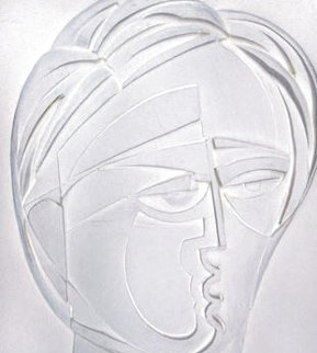 Beluchi Woman Vellum Cast Paper AP 1982 Limited Edition Print - Anthony Quinn