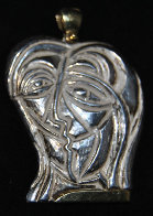 Lovers Sterling Silver Earrings and Pendant Jewelry by Anthony Quinn - 1