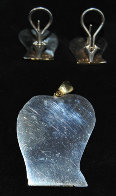 Lovers Sterling Silver Earrings and Pendant Jewelry by Anthony Quinn - 2