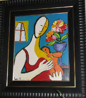 Mother and Child 1988 Limited Edition Print by Anthony Quinn - 1