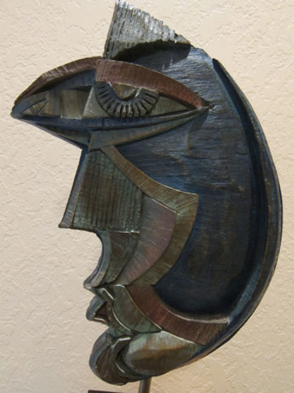 Dream Girl Bronze Sculpture 1984 24 in Sculpture by Anthony Quinn