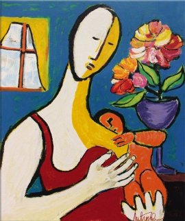 Mother and Child 1988 Limited Edition Print by Anthony Quinn