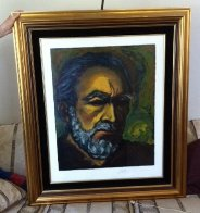 Loves of Zorba Suite of 2 1985 Limited Edition Print by Anthony Quinn - 2
