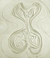 Odalisque Paper Vellum Sculpture 1987 52x45 Super Huge Sculpture by Anthony Quinn - 0