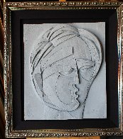Beluchi Woman Cast Paper Sculpture 1982   Limited Edition Print by Anthony Quinn - 1