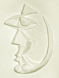 Dream Girl Vellum Sculpture 1983 Limited Edition Print - Anthony Quinn
