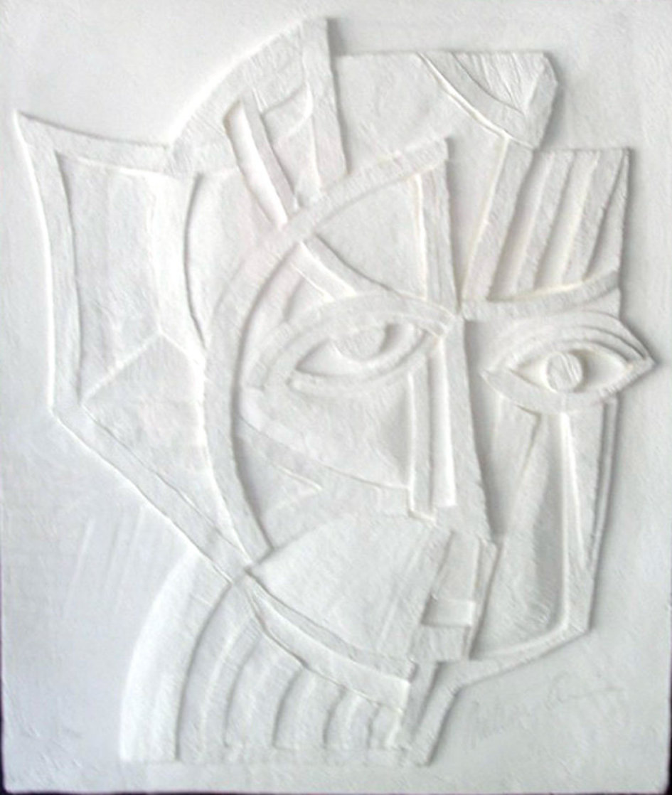 Irene Vellum Sculpture 1985 Limited Edition Print by Anthony Quinn