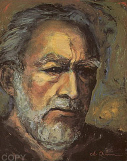 Zorba Self Portrait 1983 Limited Edition Print by Anthony Quinn