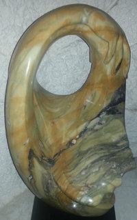 Embrace Unique Marble Sculpture 1995 26 in Sculpture - Anthony Quinn