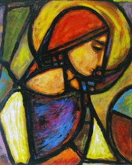 La Femme Ideale 1984 Limited Edition Print - Anthony Quinn