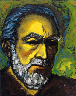Zorba, a Self Portrait 1985 Limited Edition Print - Anthony Quinn