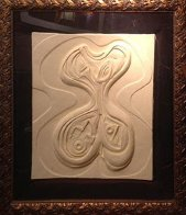 Odalisque Sculpture Cast Paper 1987 Limited Edition Print by Anthony Quinn - 2