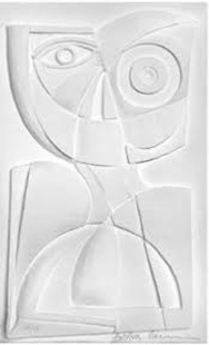 Child Paper Sculpture 1982 Limited Edition Print by Anthony Quinn
