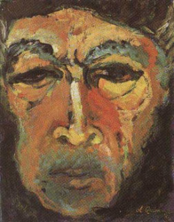 A Glance In The Mirror 1983 Limited Edition Print by Anthony Quinn