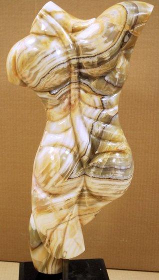 Promethius Marble Unique Sculpture 1980 23 in Sculpture by Anthony Quinn