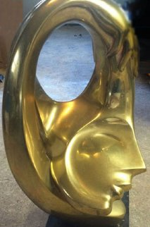 Embrace Bronze Sculpture 26 in  Sculpture by Anthony Quinn