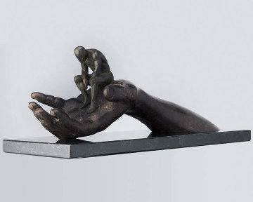 Hand of God Bronze Sculpture 1999 13 in Sculpture - Lorenzo Quinn