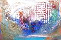 Coconut Grove III 1990 72x96 Original Painting - Richard Quinn