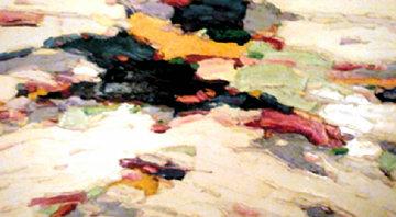Potpourri of Licks 1990 52x64 Original Painting - Jim Rabby