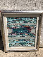 Fabric of My Life 1988 40x36 Super Huge Original Painting by Jim Rabby - 1