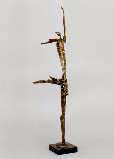 Ballet Bronze Sculpture 1996 28 in Sculpture - Semion Rabinkov