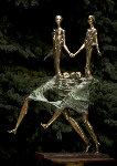 Family Bronze Sculpture 1998 32 in Sculpture - Semion Rabinkov