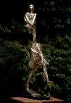 First Step Bronze Sculpture 1996  32 in Sculpture - Semion Rabinkov