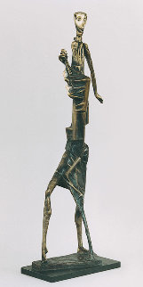 Fidler Bronze Sculpture 1996  31 in Sculpture - Semion Rabinkov