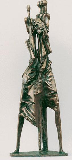 Quartet Bronze Sculpture 1998 41 in Sculpture by Semion Rabinkov