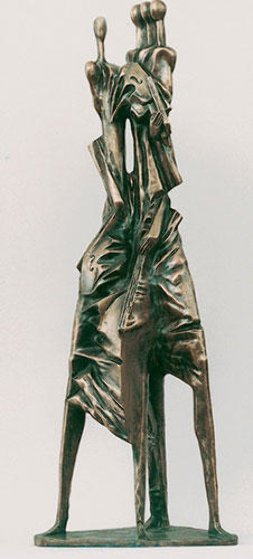 Quartet Bronze Sculpture 41 in Sculpture by Semion Rabinkov