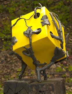 Roots (From Meteorite Series) Bronze Sculpture 2009 Sculpture - Semion Rabinkov